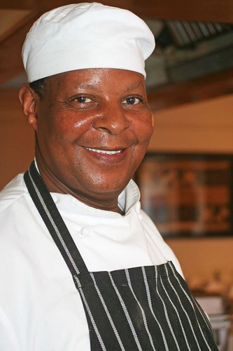 Chef at the Lady Hamilton Hotel in Cape Town
