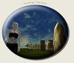 Stonehenge 1500 BC - Heritage Key (viv.trafalgar) Tags: heritagekey