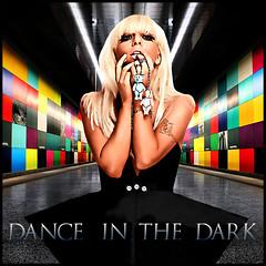 Dance in the Dark - Lady Gaga (GIMP 2.4.5) (Gabriel Kayor) Tags: red white black yellow shop lady photoshop photo spears blu christina britney aguilera gaga equate bsica rihanna kayor gahbryel
