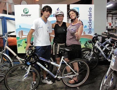 Renata + KT + bikeshare dude