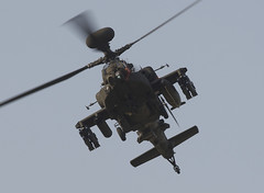 Apache (Bernie Condon) Tags: plane flying apache aircraft military helicopter planes britisharmy helecopter aac boscombedown