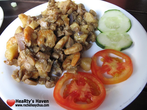 shrimp mushroom mister kabab