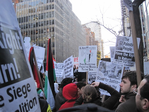 Al-Awda Protest, 27 Dec 09