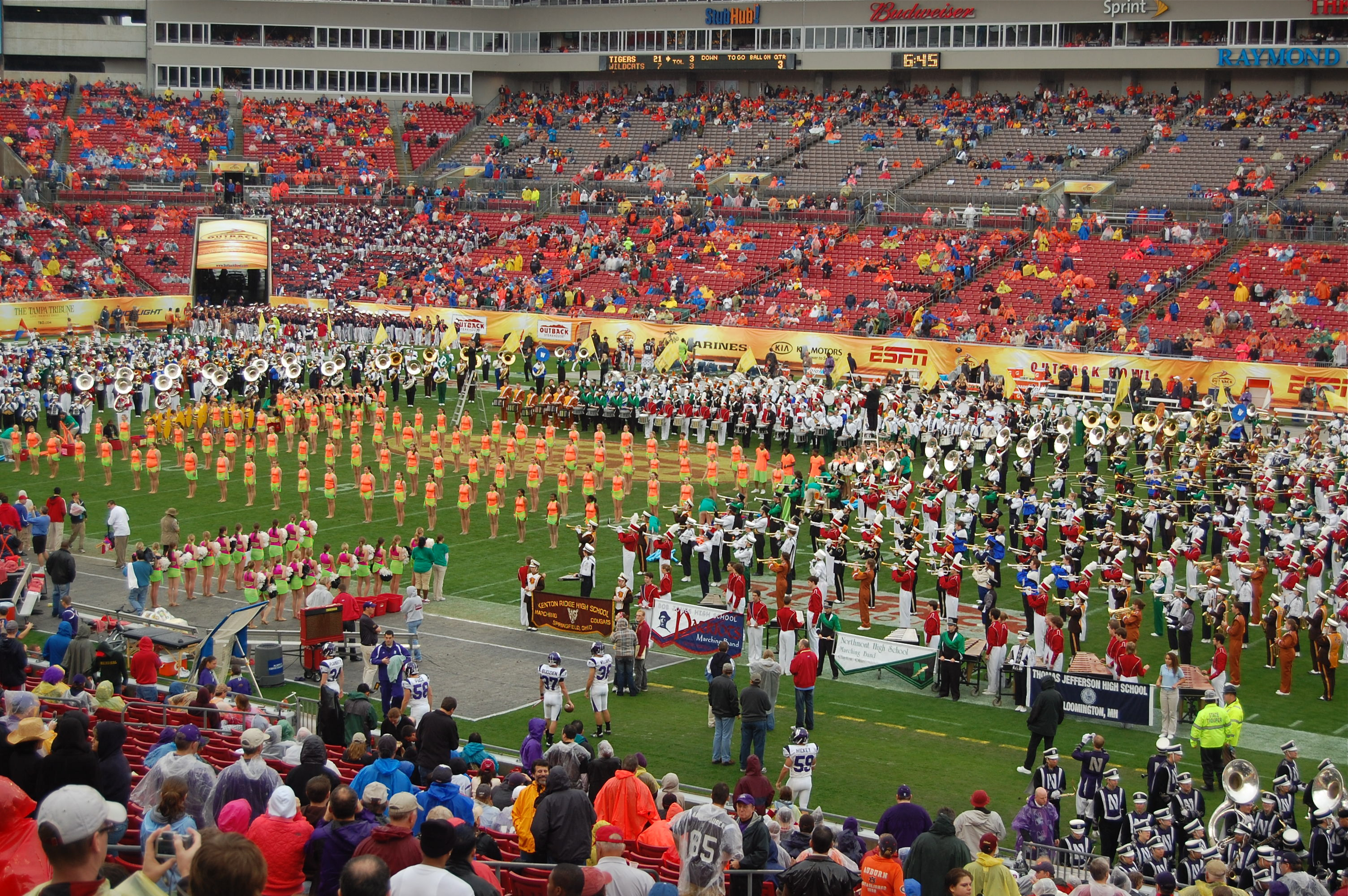 Away Band Sections 143 & 140