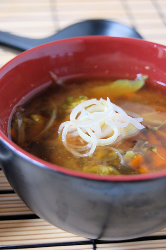 winter miso soup