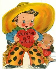 Valentine Best Wishes (reinap) Tags: vintage valentine valentinesday