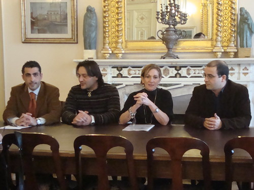 In Provincia con la presidente Alessandra Giudici e lassessore Roberto Desini