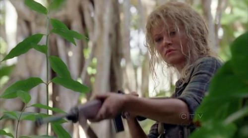 Claire a lo Rousseau Lost 6x03