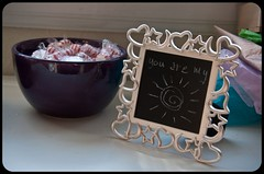 .Sweet Recycled Frame Little Chalkboard