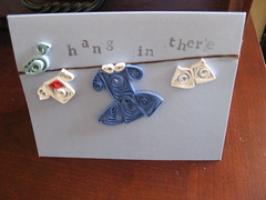 Quilled Laundry Line Card