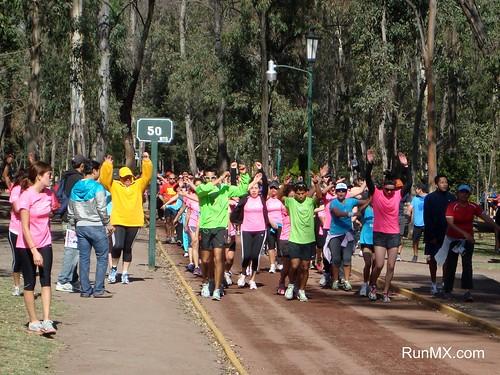 Carrera Nike Mujeres 2010 - Entrenamiento