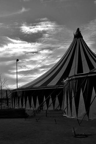 El tristeza en el circo