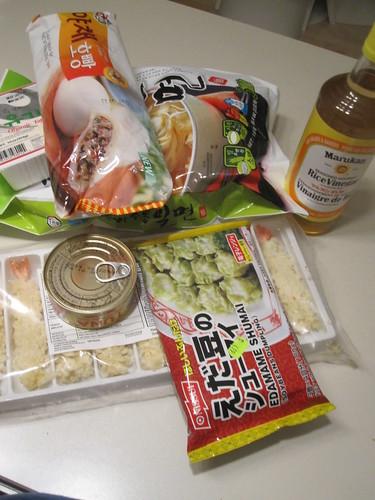 Groceries - $41.32
