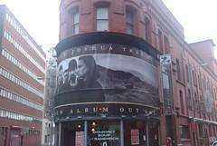 Big U2 Joshua Tree sign