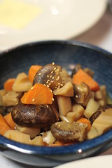 slow cooked vegetables