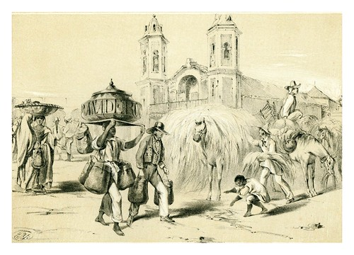 014- La Habana- El panadero y el malojero-Álbum pintoresco de la Isla de Cuba- 1853