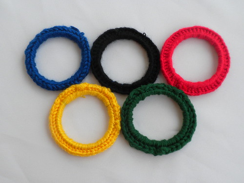 Yarny Olympic Rings