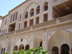 Kashan, Abbasiyyan House (13) (Prof. Mortel) Tags: iran kashan
