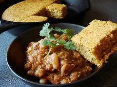 Winter CSA 4+5: Beans & Skillet Cornbread