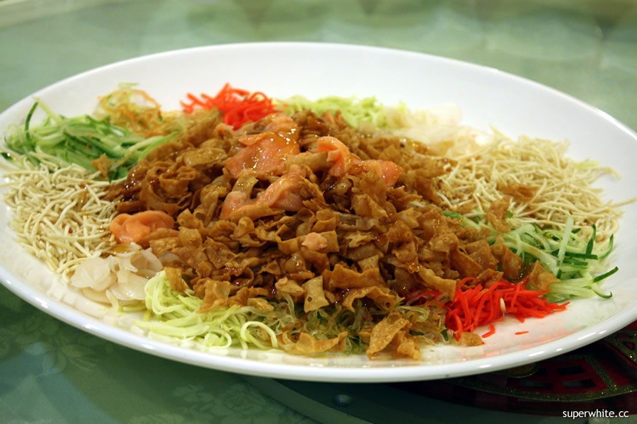 2010 Chinese New Year's Dinner - Yee Sang