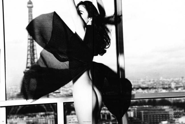 Mariacarla Boscono in Vogue Germany, March 2010