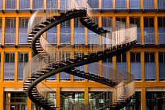 Wendeltreppe I (Knittware) Tags: d50 munich mnchen nikon treppe architektur kpmg wendeltreppe