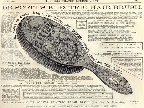 Dr Scott's Electric Hair Brush