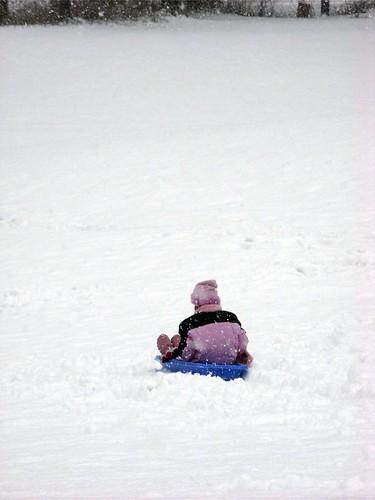 sledding!