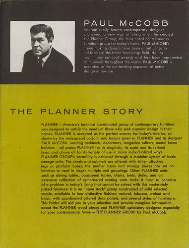 Paul McCobb Planner Advertisement