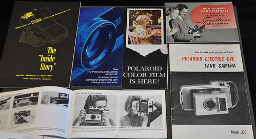Polaroid Land Camera Catalogs