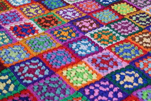 crochet squares blanket