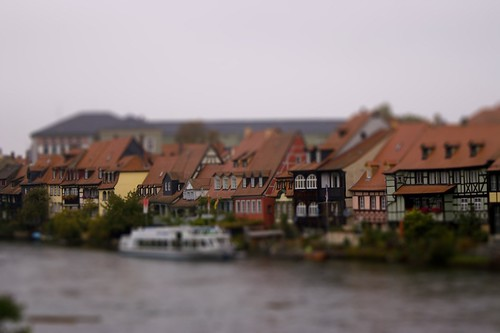 tilt shift Bamberg, Germany