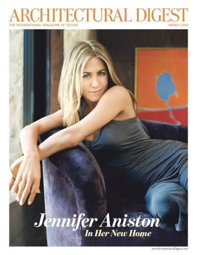 jennifer aniston architectural diges