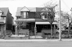1462-1464 Dufferin St - March 27, 1998 (collations) Tags: houses toronto ontario architecture documentary vernacular streetscapes semidetached builtenvironment urbanfabric