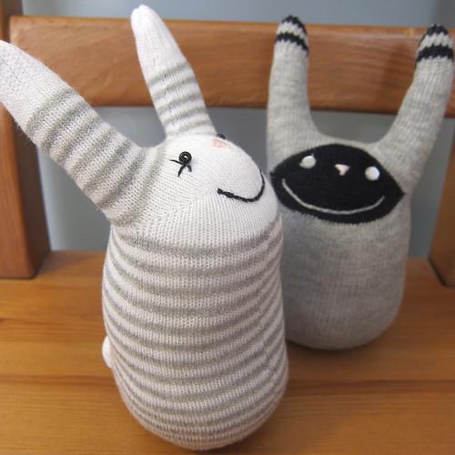 #64 - Sock Bunnies