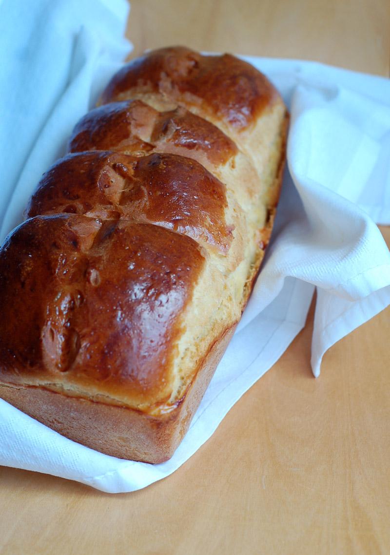 Lemon Brioche Loaf