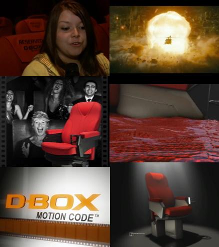 D-BOX 映画館に 動く座席 動画! ワーナーマイカル が国内初導入