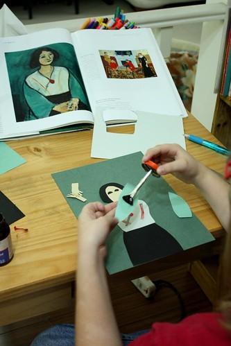 matisse artist study reproduction