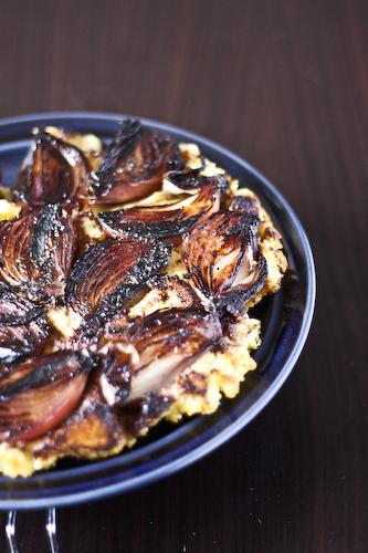 onion polenta cake 2
