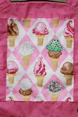 Michael Miller Ice Cream Mei Tai for Children/Toddlers