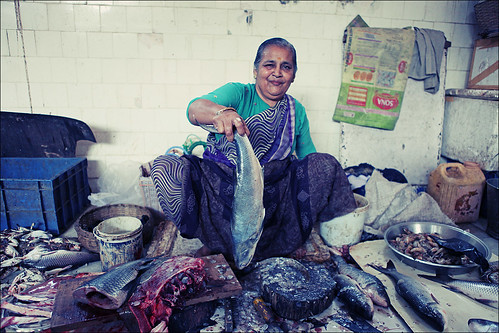 Life Of A Foreigner In India Fish Market In Bandra Mumbai