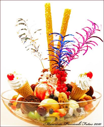 Giant Ice cream bowl