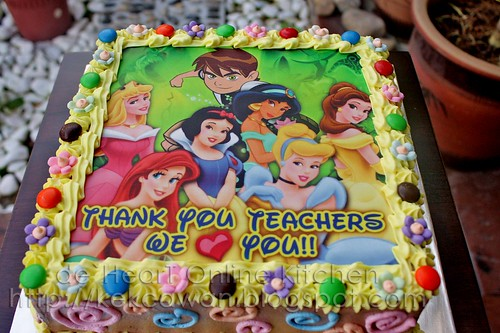 Cake Ben 10 & Disney Princess