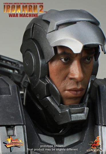 Iron Man 2 Hot Toys Mark Iv War Machine Whiplash