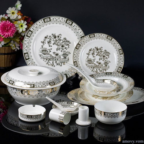 Fine bone china tableware Set-Celestial Gold-VCJ16150