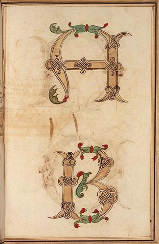 011-Opera dianto nella quale vedrete molte caratteri di lettere - Antonio Schiratti – 1600-1615