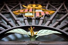 Signes o simbols (Juan Antonio Cap) Tags: espaa flower sign spain iron symbol market flor merc