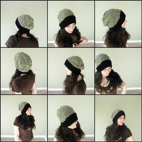 Spiral Stripe Hat