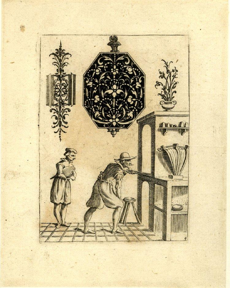 Jakob von der Heyden (after Jean Toutin) 1630 c