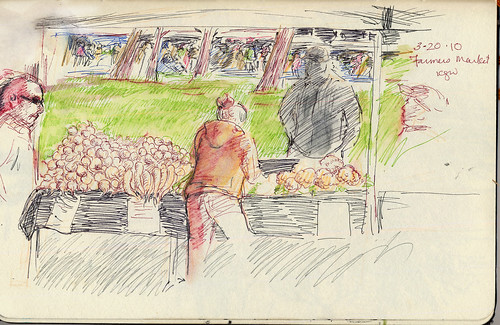 Portland Farmer's Market - Turnips